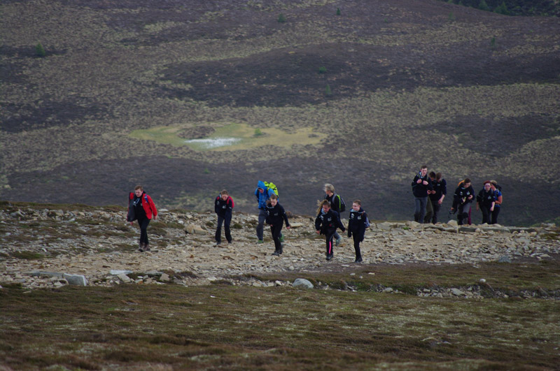 Wild challenge - The Polar Academy selection weekend included tough hiking in the hills near Glenmore Lodge by Aviemore