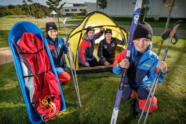 ARCTIC BOUND … TEN EDINBURGH PUPILS' SELECTED FOR LIFE CHANGING EXPEDITION