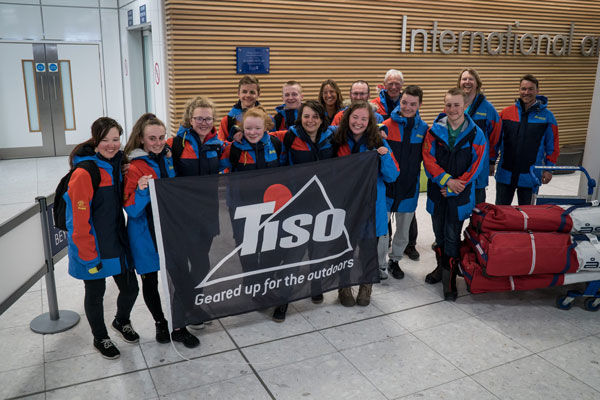 TEN EDINBURGH PUPILS RETURN FROM LIFE CHANGING ARCTIC EXPEDITION